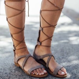 Gladiator Lace up sandals
